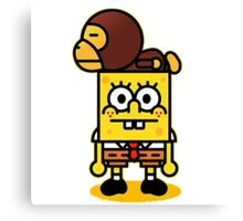 Spongebob and milo Canvas Print