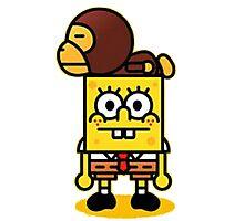 Spongebob and milo Photographic Print