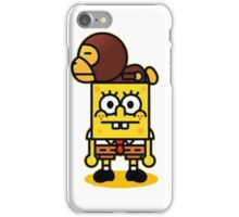 Spongebob and milo iPhone Case/Skin