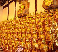 A Whole Lotta Buddhas in Shanghai by Alecia Hoobing