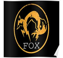 Metal Gear Solid - FOX Logo by Shoro Poster