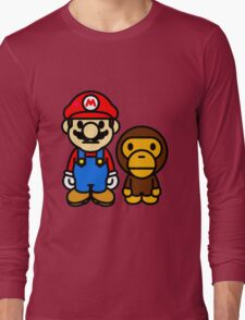 mario and milo Long Sleeve T-Shirt