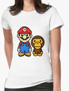 mario and milo Womens Fitted T-Shirt