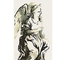 Angel in Adoration Photographic Print