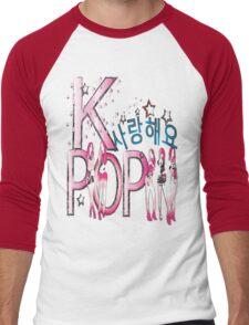 Love KPOP Men's Baseball ¾ T-Shirt