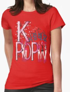 Love KPOP Womens Fitted T-Shirt