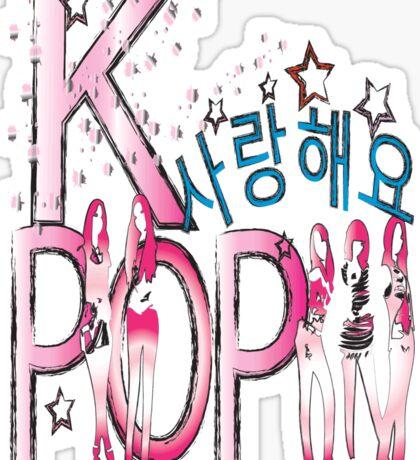 Love KPOP Sticker