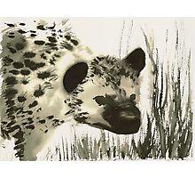 Hyena Inks Photographic Print