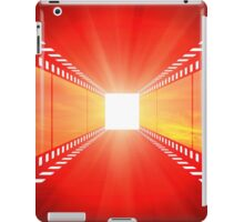 clouds at sunset cinema design iPad Case/Skin