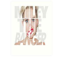 Miley Cyrus Art Print