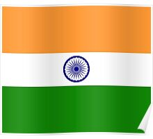 India Flag Duvet Cover - Indian Cricket World Cup Sticker Poster