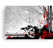 Royal Australian Infantry Canvas Print
