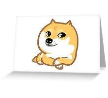 funny dog Greeting Card