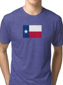 Texas Flag Texan USA - Lone Star T-Shirt Duvet Sticker Tri-blend T-Shirt
