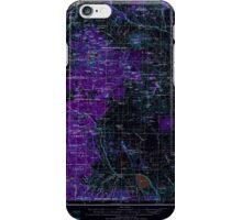 USGS Topo Map Oregon Crescent 283320 1970 250000 Inverted iPhone Case/Skin