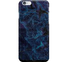 USGS Topo Map Oregon Coleman Point 279399 2004 24000 Inverted iPhone Case/Skin