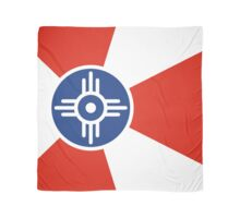 Wichita Kansas Flag USA T-Shirt Cell Phone Case Scarf