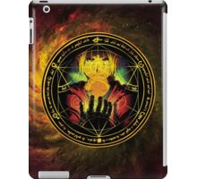 Edward Transmutation Circle iPad Case/Skin
