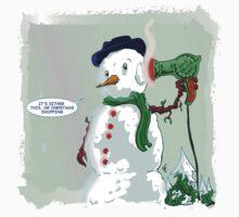 Snowman Suicide by Hayden Fryer