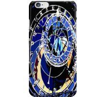 Blue  Clock iPhone Case/Skin