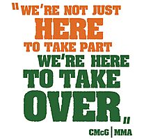 Conor McGregor - Quotes [TakeOver] Photographic Print