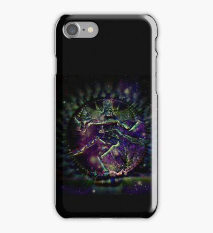 SPACE AND TIME WAR iPhone Case/Skin