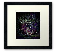 SPACE AND TIME WAR Framed Print