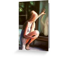 Through a Glass Darkly; pastels... . Greeting Card