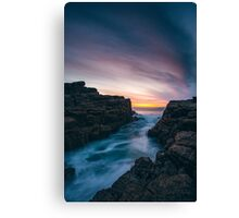 Seascape Sunset Canvas Print