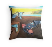 Time running out for the Tassie devil. Throw Pillow
