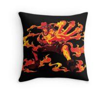 Fire Hot Ace Throw Pillow