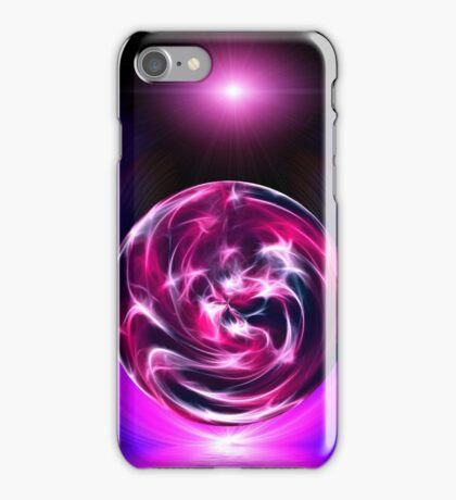 original colorful abstract design on a black background iPhone Case/Skin