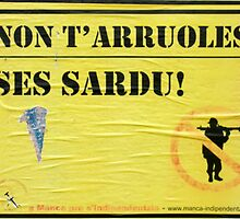 Do not join the Armed Forces: you are Sardinian by Michele Filoscia