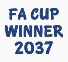 FA Cup Winner 2037 - Blue Kids Clothes