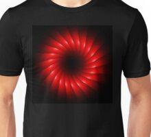 abstract red swirl design Unisex T-Shirt