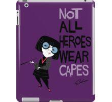 NO CAPES iPad Case/Skin