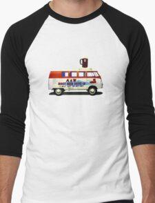 Custom VW Root Beer Camper Men's Baseball ¾ T-Shirt