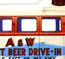 Custom VW Root Beer Camper Sticker