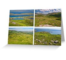 Ring Of Kerry, Landscape, Ireland Greeting Card
