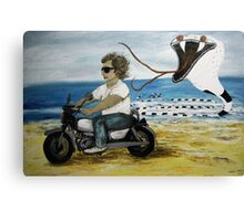 Silver Bullet - Spirit Guide Canvas Print