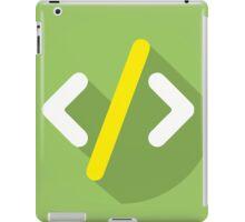 HTML tag iPad Case/Skin