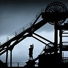Woodhorn Colliery Headgear by Stephen Morris