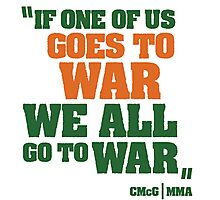 Conor McGregor - Quotes [WAR] Photographic Print