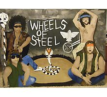 Wheels of Steel The Moment Photographic Print