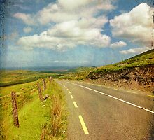 Rural Countryside Scenic Drive, County Kerry, Ireland by upthebanner