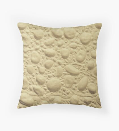 Artex Pebbles in Sand Throw Pillow