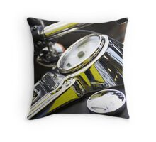 Capped powerline Throw Pillow