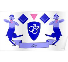Gay Crest Poster