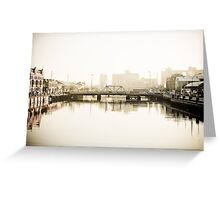 Beautiful city Greeting Card