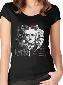 Horrible sanity... Women's Fitted Scoop T-Shirt